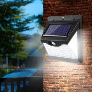 Proyector LED con energía solar y sensor de movimientos, varios  tamaños y potencias