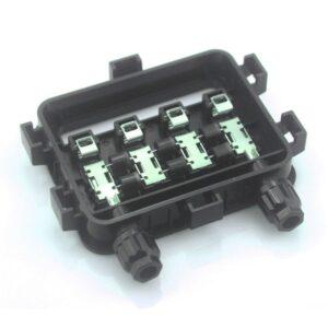 1 Caja de conexiones 180W-300W impermeable IP67 para sistema Solar fotovoltaico