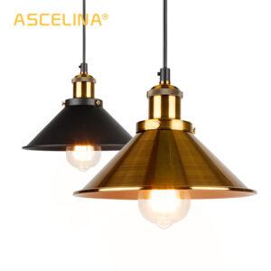 Lámpara colgante industrial lámpara colgante clásica lámpara colgante moderna lámparas de techo LED restaurante sala de estar Decoración