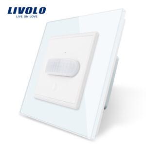Luz empotrada automática -vidrio templado encendido manual o automático por movimiento