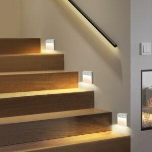 Bañador de suelo – iluminación automática de escalones y zonas de paso