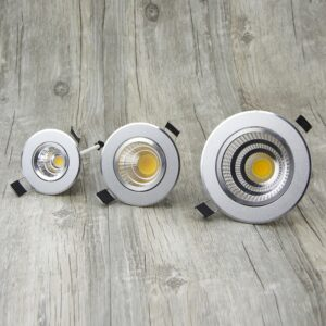 Foco regulable LED Downlight empotrable en el techo 6W 9W 12W 15W