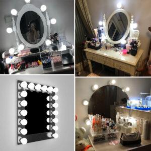 Aplique luz tocador o espejo maquillaje