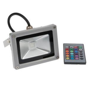 Proyector LED color RGB, potencia 10W, 20W, 30W y 50W