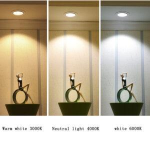 Foco DOWNLIGHT alta calidad para iluminación productos y escaparates – Regulable