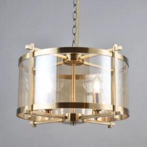 Vintage restaurante candelabros de iluminación Led accesorios cadena colgante 4 bombillas salón dormitorio cafetería lámpara colgante Loft Deco