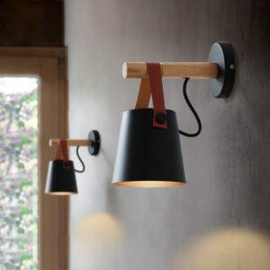 Aplique minimalista estilo modernoiluminación cabeceros, lámpara de lectura, casquillo E27