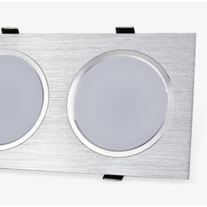Foco LED empotrable en techo de 6w -14w – 18w – 24w doble cabezal bombilla regulable AC85-265V