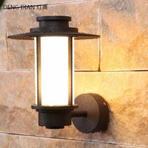 Aplique pared para exterior arquitectura moderna casquillo bombilla E27