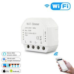 Dimmer interruptor regulador de luz wifi