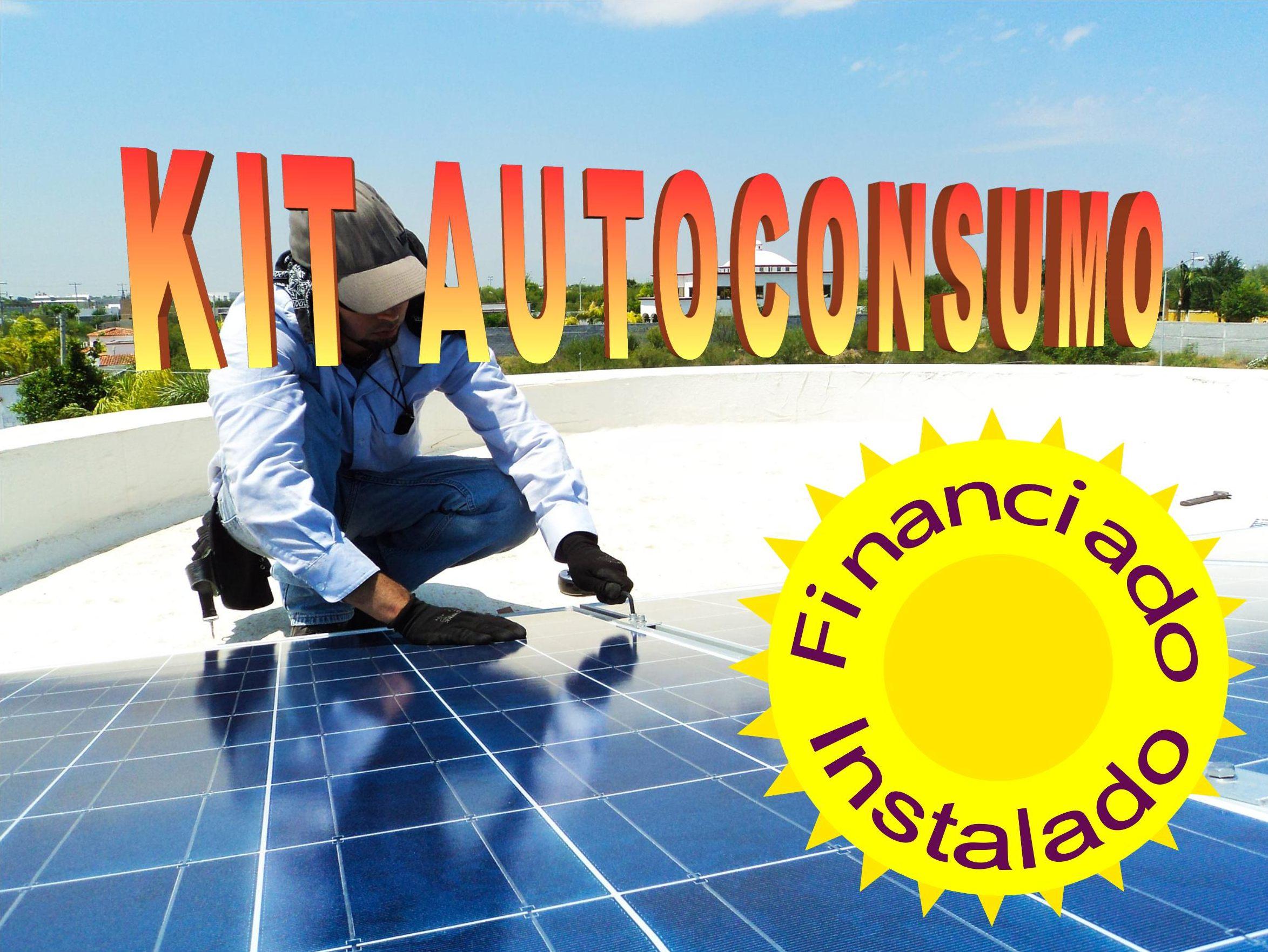 Kit autoconsumo energía solar desde 2Kw