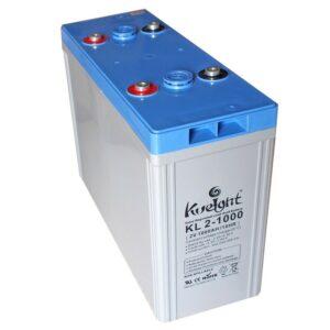 Batería de plomo ácido 2V- 1000Ah para energía solar