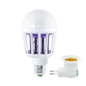 Bombilla LED 9W mata mosquitos con luz UV