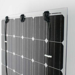 Panel solar para pergolas transparencia 10 % 370W