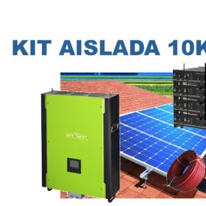 Kit autoconsumo 10Kw aislada batería de Litio