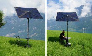sombrilla solar